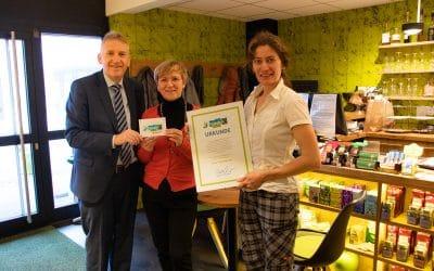 Bistro Zeitvertreib erhält FairTrade Auszeichnung