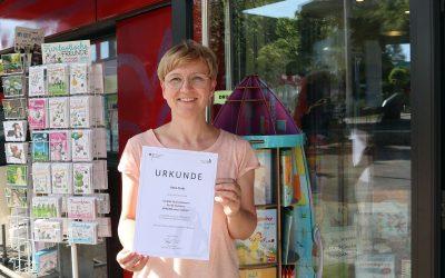 Anne Treib als Vorbild-Unternehmerin ausgezeichnet