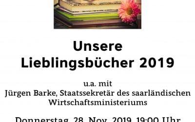 Unsere Lieblingsbücher 2019