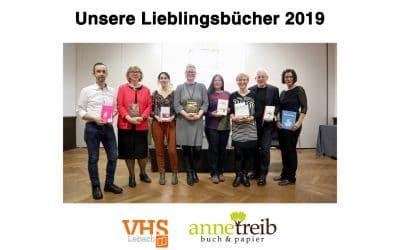 Nachlese: Unsere Lieblingsbücher 2019
