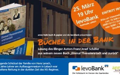 Lesung von Franz Josef Schäfer über das bewegende Schicksal der Familie von Hans Lansch