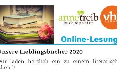 Online-Event: Unsere Lieblingsbücher 2020 – 26.11.2020