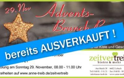 AUSVERKAUFT – Advents-Brunch-Box zum Mitnehmen – So 29.11.2020