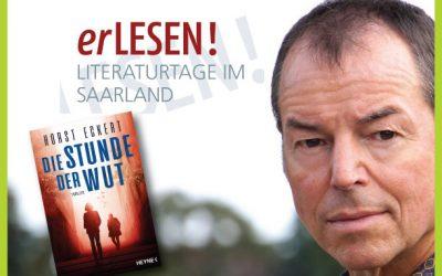 """LiveStream-Lesung – Horst Eckert """"Die Stunde der Wut"""" – erLesen2021"""