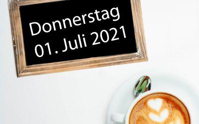 Frühstücken im Zeitvertreib – ab Do 01. Juli 2021 wieder möglich